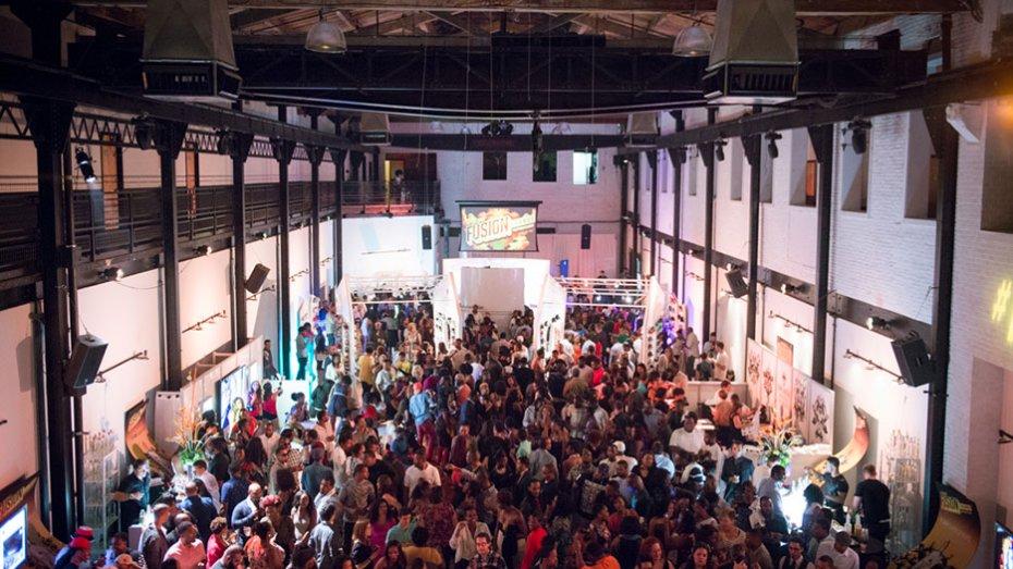 Bacardi Fusion Lounge Event at the Philadelphia Skybox
