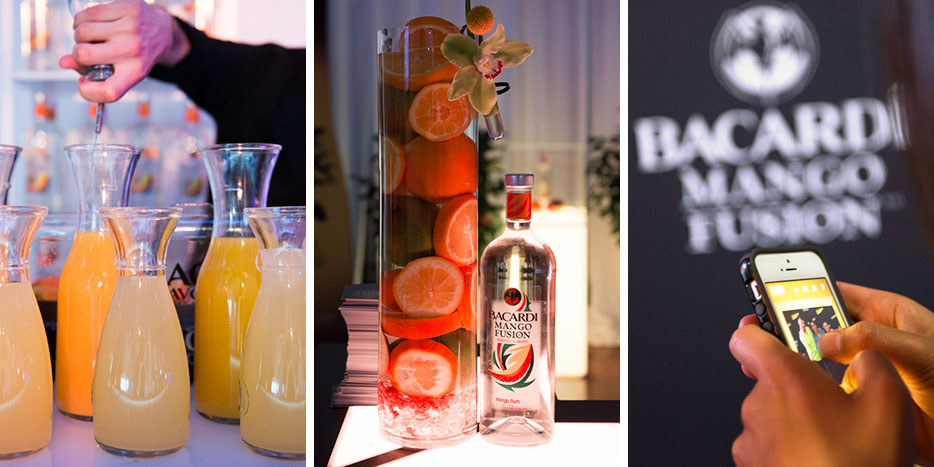 Bacardi Fusion Lounge Event at the Philadelphia Skybox