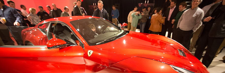 Philadelphia Event Photography, Ferrari  Berlinetta Unveiling