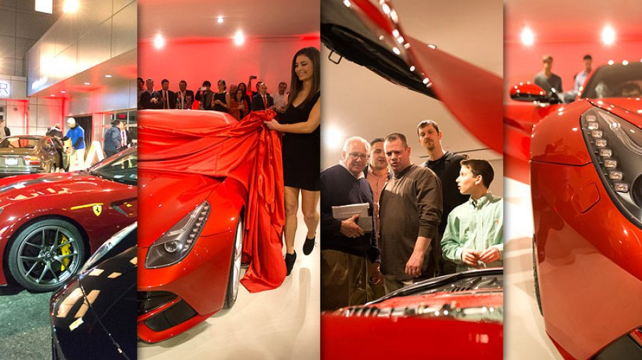 Algar Ferrari Of Philadelphia F12 Berlinetta Unveiling Philadelphia Event And Corporate Photographer