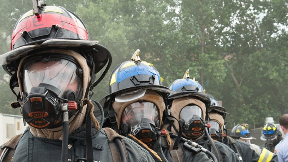 New York Event Photography, Corporate Team Building with FDNY
