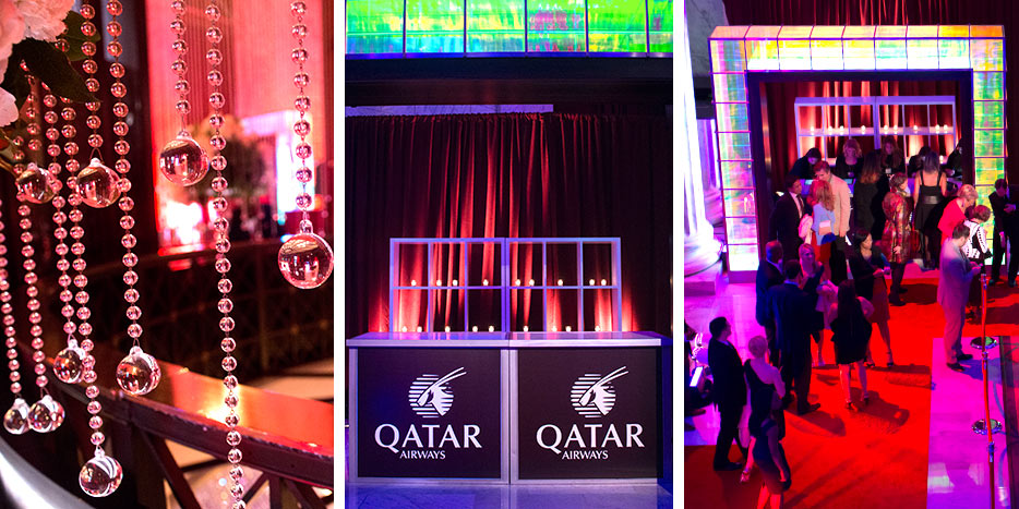 Philadelphia Event, Qatar Airways, Ritz Carlton