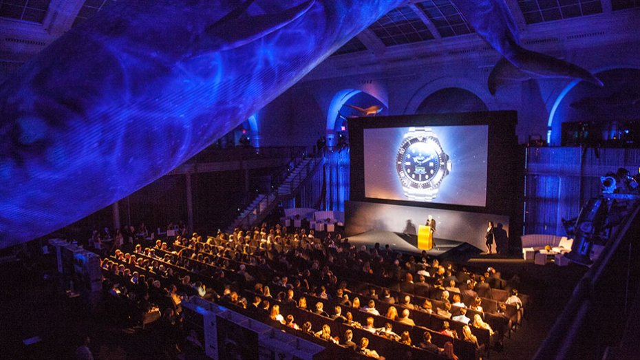 James Cameron's Deepsea Challenge Movie Premiere with Rolex